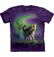 3д футболка с волчонком