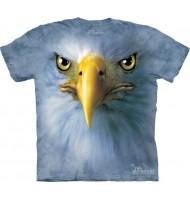 3д футболка с белоголовым орлом