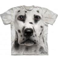 3д футболка с мордой далматинца