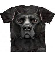 3д футболка черный стаффорд