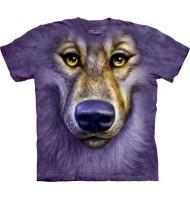 3д футболка добрый волк