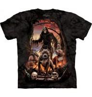 3д футболка с изображением нежити