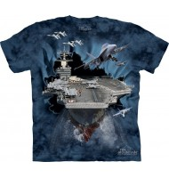3д футболка авианосец
