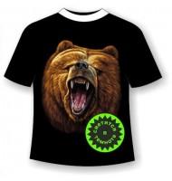 Футболка батал Медведь 354