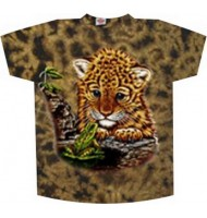 Детская футболка с тигренком k-025