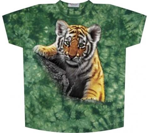 футболка с тигренком