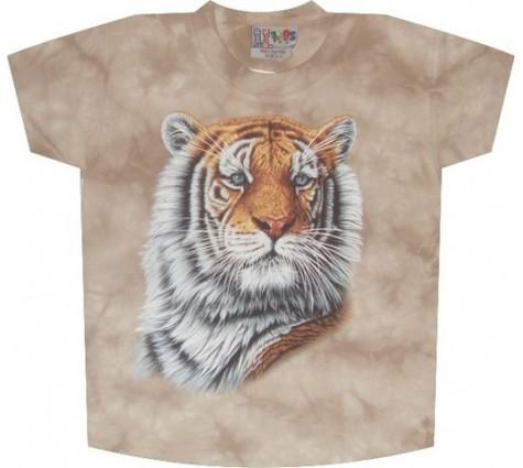 3д футболка с тигром