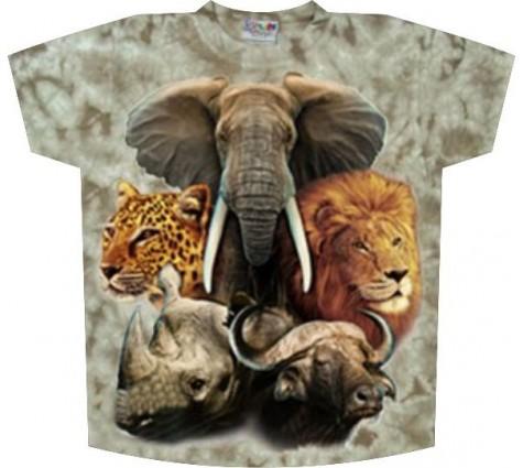 футболка сафари