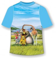 Детская футболка Зоопарк (В)