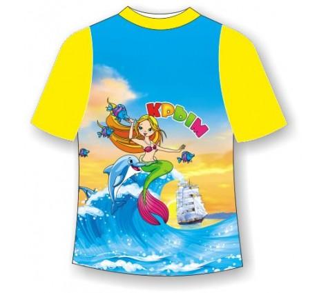 Детская футболка Русалочка 2