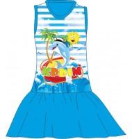 Детское платье Крым дельфин 3