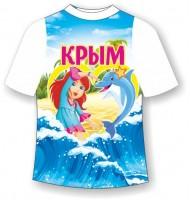 Детская футболка Девочка с сердцем