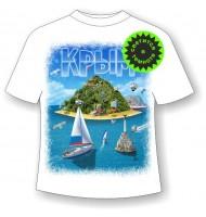 Детская футболка Крым остров