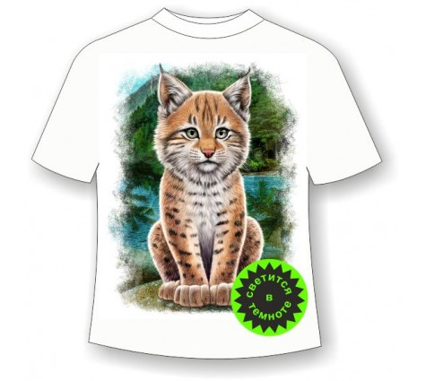 Детская футболка Рысенок