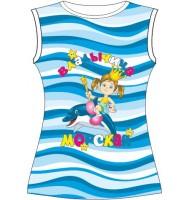 Детская футболка Владычица морская