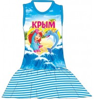 Детское платье Девочка с сердцем