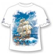 Детская футболка Крым-парусник 711