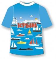 Детская футболка Кораблики