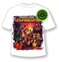 Детская футболка Minecraft Dungeons