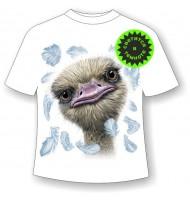 Детская футболка Страус