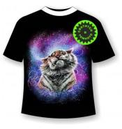Детская футболка Тигр брызги 1131