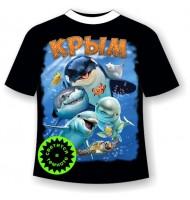 Детская футболка Веселые рыбки 1046
