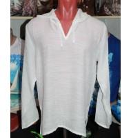 Рубашка марлевая детская белая