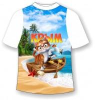 Детская футболка Кот в Крыму