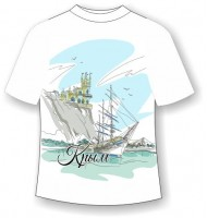 Детская футболка Крым Линии