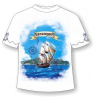 Детская футболка Евпатория-парусник 711