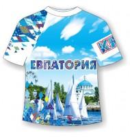 Подростковая футболка Евпатория-Ромбы