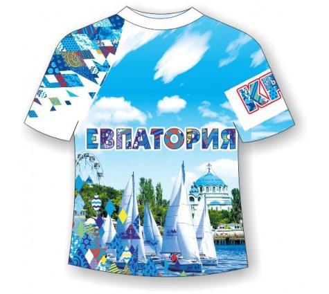 Детская футболка Евпатория-Ромбы