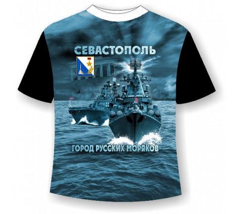 Детская футболка Город русских моряков