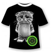 Детская футболка Котенок 667 (В)