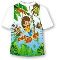 Детская футболка Куда хочу - туда лечу