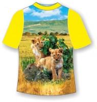 Детская футболка Львята-няши