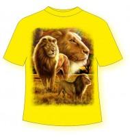 Детская футболка Прайд львов 791 (B)