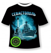 Детская футболка Севастополь ночной №358