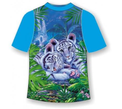 Детская футболка Тигрята-няши