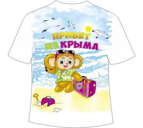 Детская футболка Чебурашка