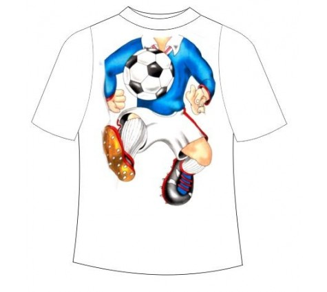 Детская футболка Футболист