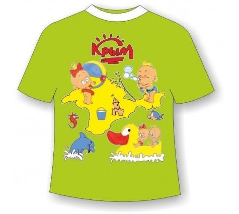 Детская футболка Крым-Детский