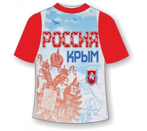 Детская футболка Крым-Россия