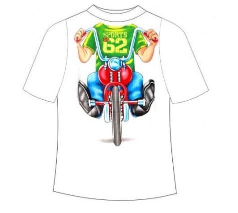 Детская футболка Мотоциклист