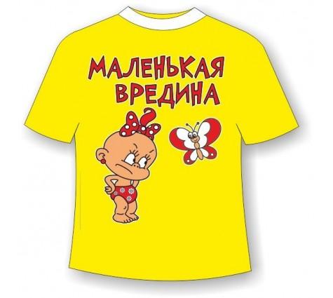 Детская футболка Вредина