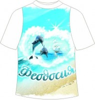Детская футболка Феодосия