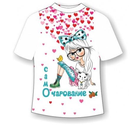 Детская футболка Само очарование