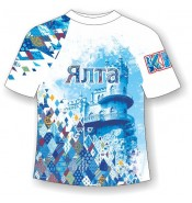 Детская футболка Ялта-Ромбы