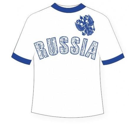 Подростковая футболка Россия-1