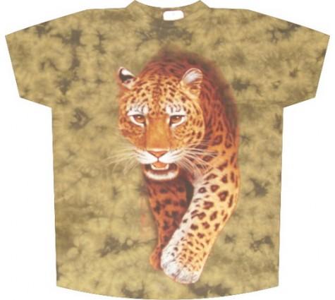 Футболка с леопардом TD 214